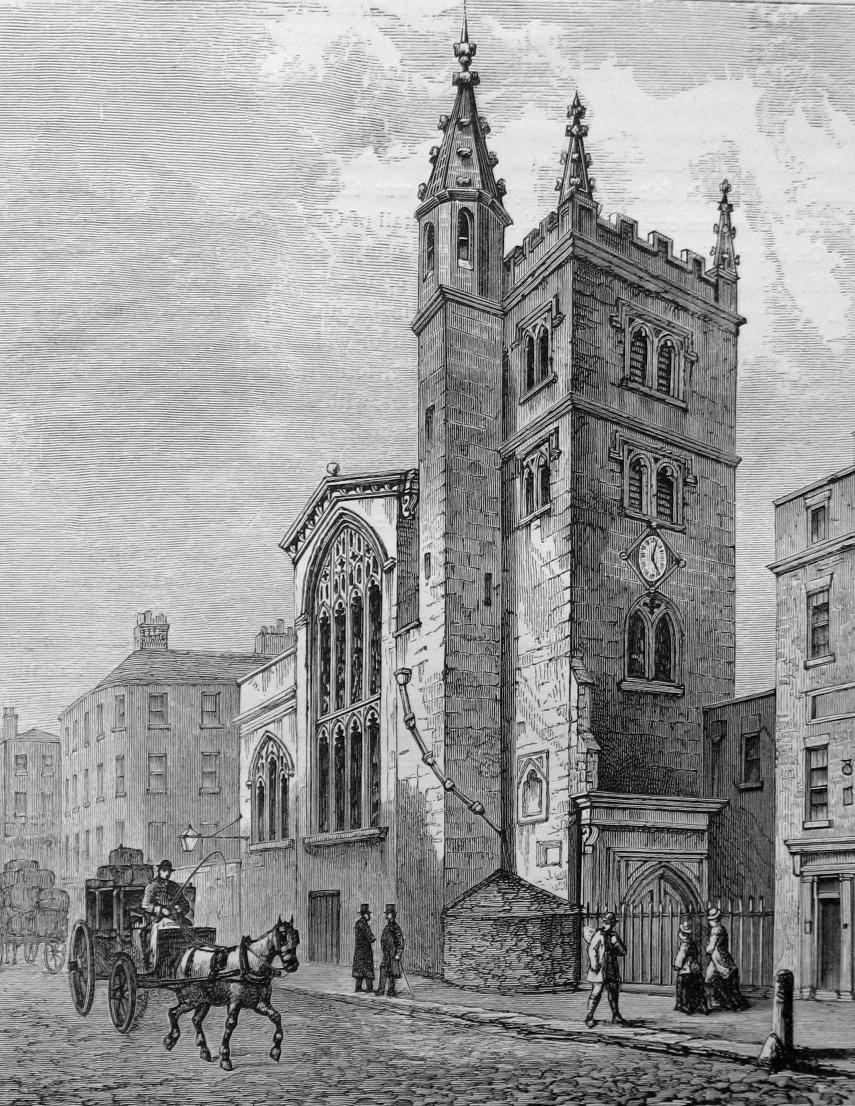 St Andrew Undershaft City Of London Bob Speel S Website