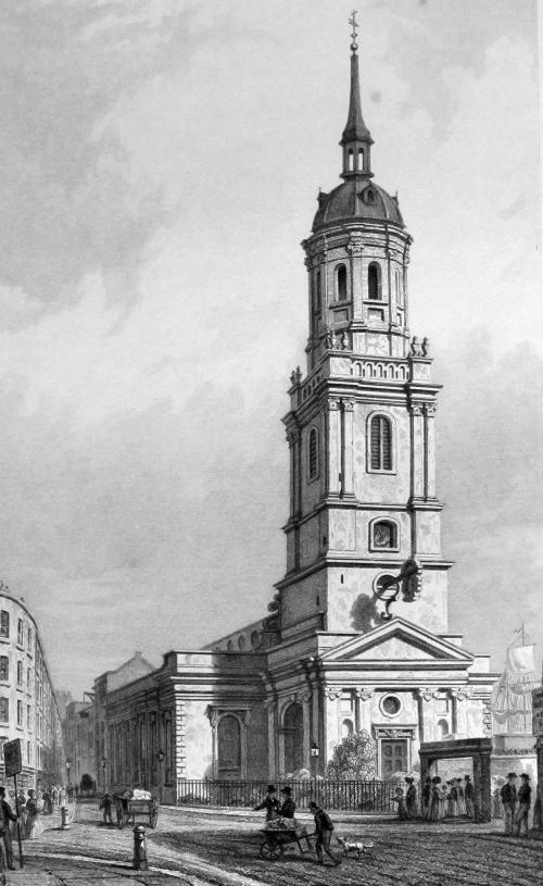 St Magnus the Martyr, Lower Thames Street - Bob Speel's ...
