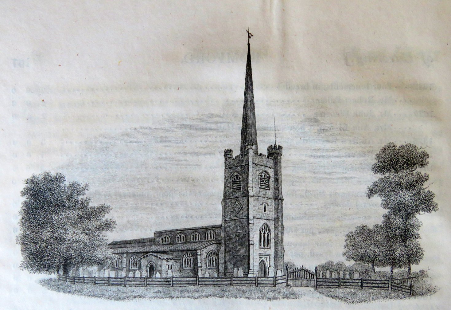 Hornchurch Early 19th Century View