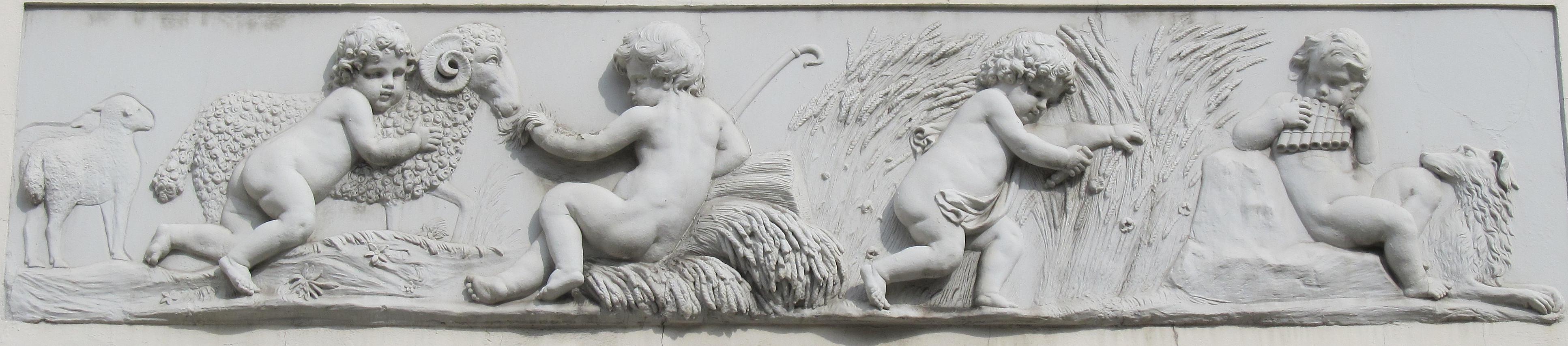 Cherub And Putti Sculpture In Victorian And Edwardian
