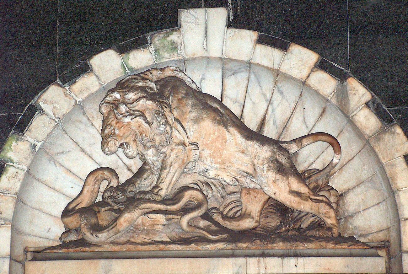 Lion Sculpture Bob Speels Website