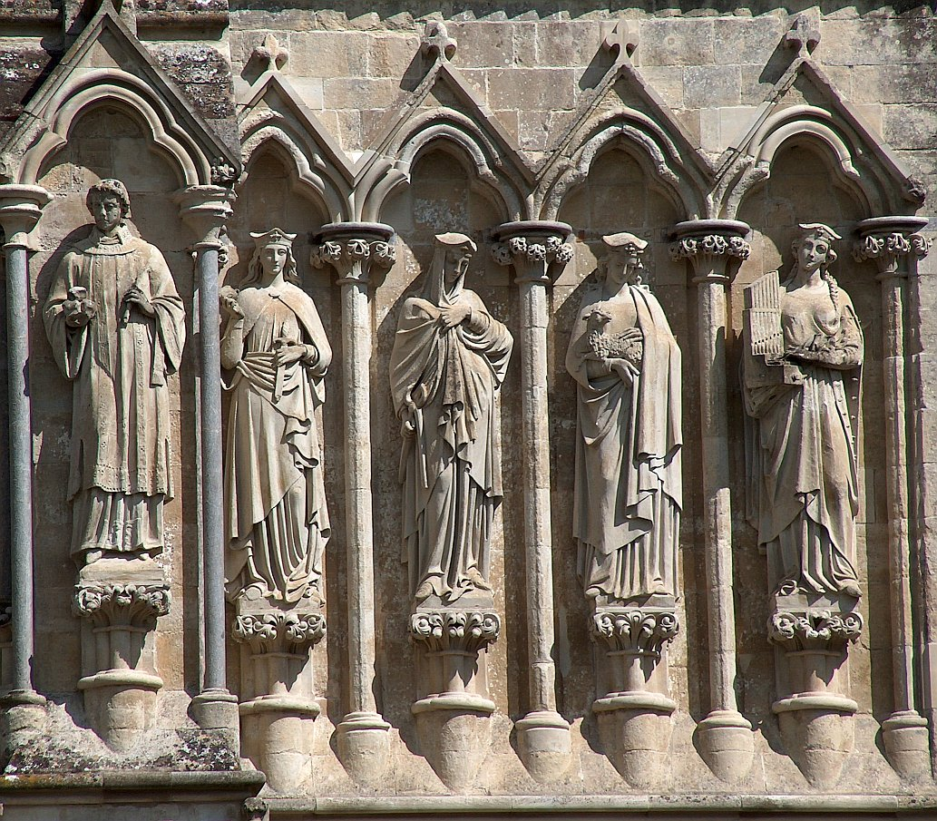 In Architectural Sculpture The Statue Within A Niche Is Entirely Characteristic For Gothic Buildings Mostly Churches And Much Less Common Classical