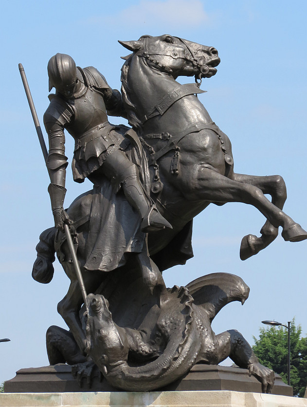 St George Dragons: St George And The Dragon Statues