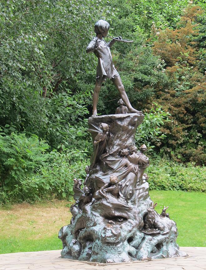 Peter Pan Statue, London - Bob Speel\'s Website