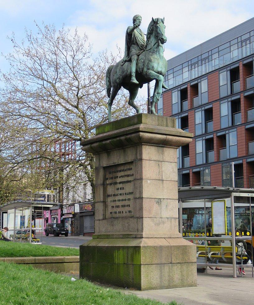 George III statue in Liverpool - Bob Speel's Website