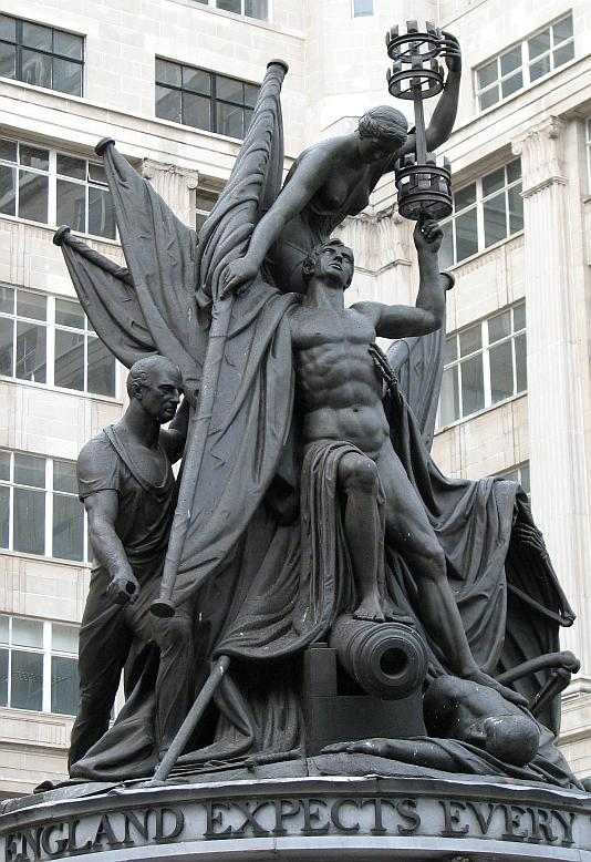 Nelson Monument In Liverpool Bob Speel S Website